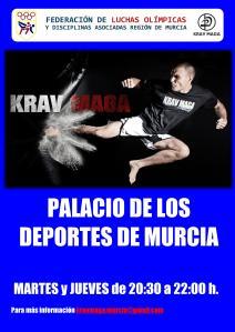Horario de clases de Krav Maga